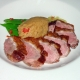 Cooked Duck Breast Dish