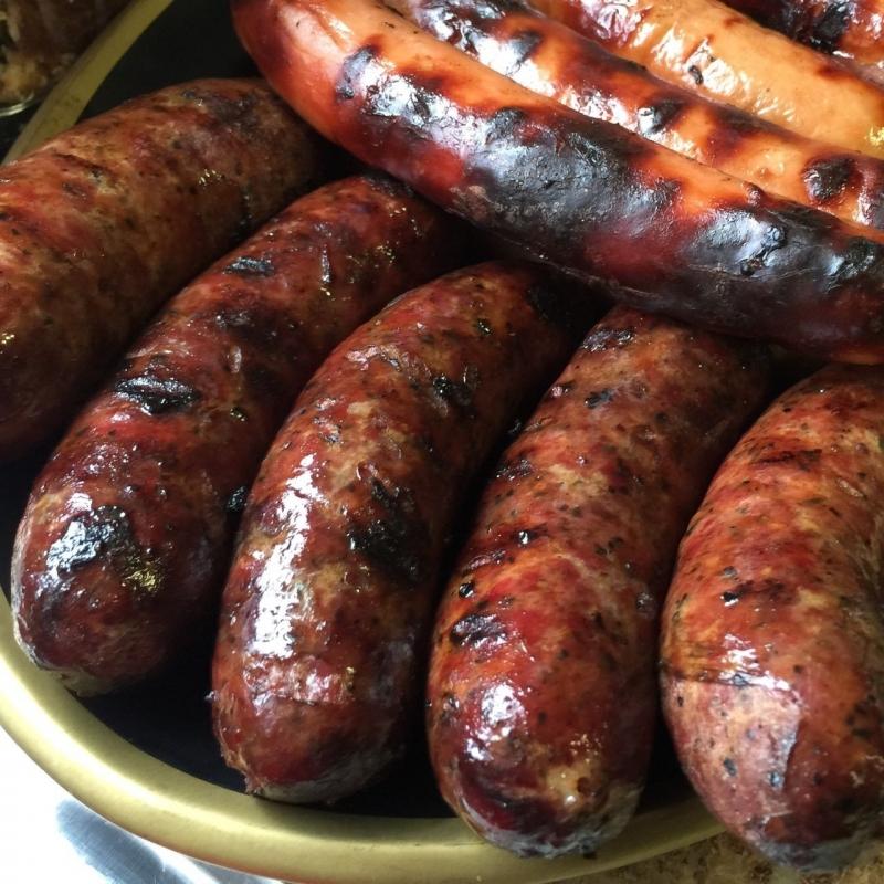 Pork Smoked Hot Links - Juniors Smokehouse